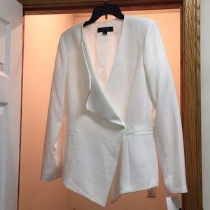Tahari Arthur S. Levine white blazer
